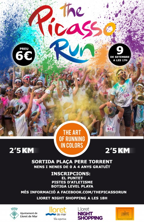 The Picasso Run - Lloret de Mar