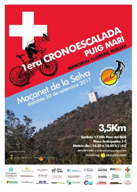 Cronoescalada BTT a Puig Marí