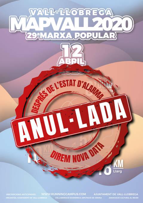 Marxa Popular de Vall-llobrega - MAPVALL 2020