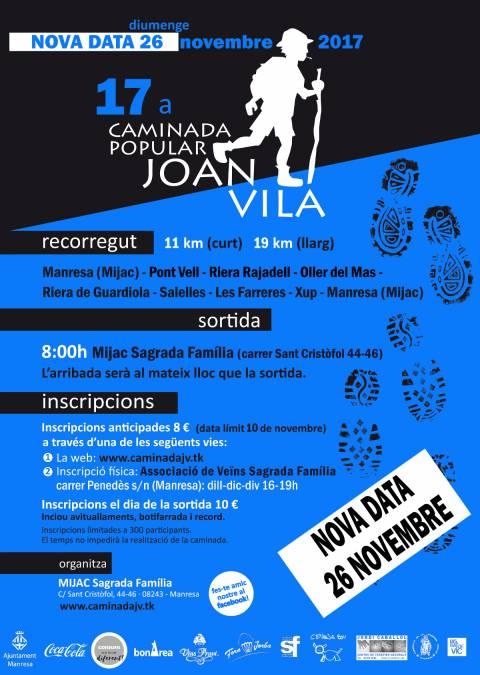 17a Caminada Popular Joan Vila