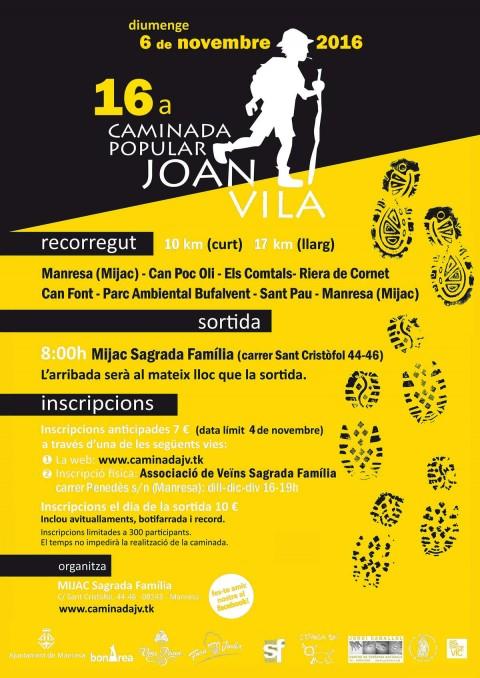 16a Caminada Popular Joan Vila